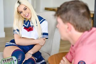 TeamSkeet - Allie Nicole Schoolgirl Sperm Injection TeenPies