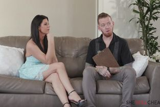 SheWillCheat - India Summer Hot milf India Summer gets fucked in front of her cuckold husband