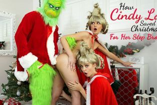 NubilesET - Chloe Cherry, Lacy Lennon How Cindy Lou Saved Christmas For Her Step Brother
