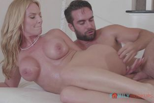 FamilyHookups - Rachael Cavalli Rachael Cavalli gets a massage and some deep fucking from her hung stepson