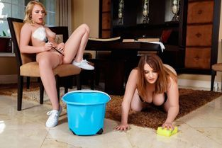 RealityKings - Maggie Green, Dixie Lynn Rich Girl And Her Maid MomsLickTeens