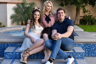 FosterTapes - Alix Lynx, Athena Faris Foster Siblings Compete For Attention In The Bedroom