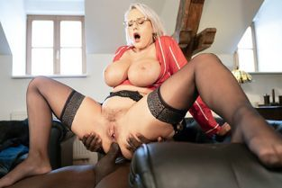 MomXXX - Angel Wicky Anal and facial with big tits MILF