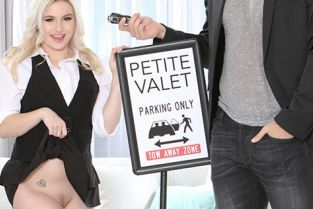 Petite - Aria Banks Petite Valet Almost Causes A Big Accident