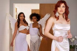 Twistys - Demi Sutra, Molly Stewart, Desiree Dulce Sky Bound Part 4 WhenGirlsPlay