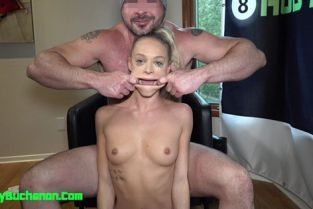 HobyBuchanon - Emma Hix Daddy Roughly Face Fucks and Beats Up Her Pussy