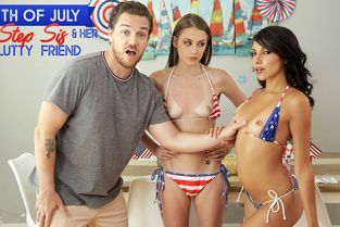 StepSiblingsCaught - Hime Marie, Kyler Quinn Fourth Of July With My Step Sister And Her Slutty Friend