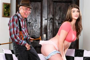DevilsFilm - Remy Rayne Teen Shows Love To Older Man