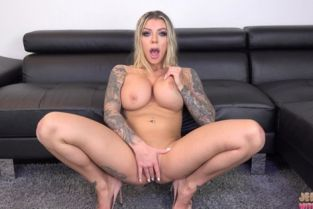 JerkOffWithMe - Karma RX White Panty Stuffing And JOI