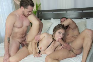 Hustler - Lena Paul My Wife And I Tried Double Penetration