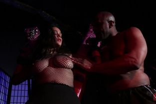 DeviantHardcore - Lelani Gold Curvy submissive babe Leilani Gold serves her handsome strong Dom