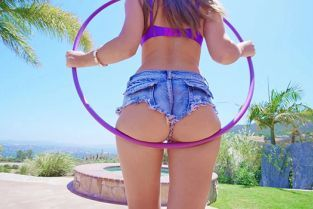 BangRammed - Paige Owens Hula Hoops On The Dick