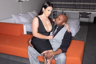 JulesJordan - Angela White Invites Prince Over For A Long Overdue Anal Excavation