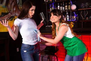 GirlsWay - Alison Rey, Evelyn Claire I'm Such A Klutz!