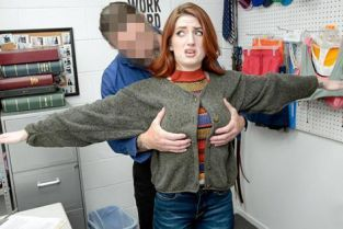 Shoplyfter - Aria Carson Under the Sweater