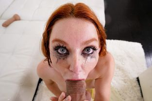 Throated - Lacy Lennon Can't Wait To Be Throat-Fucked