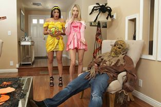 StepSiblingsCaught - Kylie Rocket, Lily Larimar Step Brothers Trick And Treat