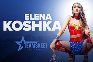 TeamSkeetAllStars - Elena Koshka A Night with Wonder Woman