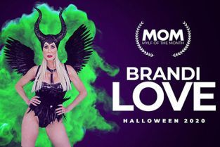 MylfOfTheMonth - Brandi Love Maleficent