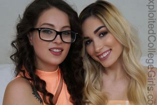 ExploitedCollegeGirls - Maddy May, Delilah Day 3way