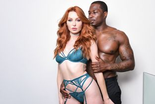 DarkX - Lacy Lennon Redhead Lacy Wants That Big Cock!