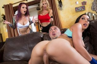 Rachel Starr, Monique Alexander, Alexis Fawx, Keiran Lee A Side Piece Of Pornstars [Best of Brazzers]