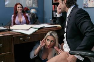 Rachel Roxxx, Skyla Novea, Jean Val Jean Hungry For A Job [Best of Brazzers]