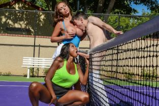 Jordi El Nino Polla, Nikki Benz, Diamond Jackson Game, Set, Match Pussy [Best of Brazzers]