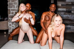 BlackedRaw - Natalia Queen, Emma Starletto Stay Awhile