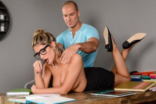 Sean Lawless, August Ames Study Buddies [Best of Brazzers]