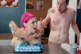 Jessy Jones, Anna Bell Peaks Let's Bake A Titty Cake [Best of Brazzers]