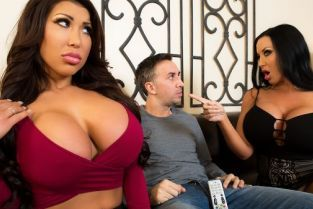 Keiran Lee, Sybil Stallone, August Taylor Sharing Is Caring [Best of Brazzers]