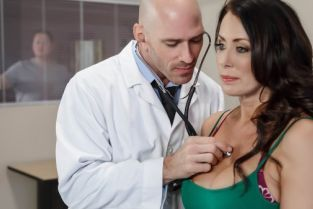 Johnny Sins, Reagan Foxx My Husband Is Right Outside... [Best of Brazzers]