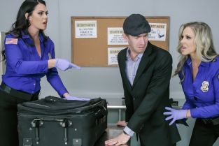 Julia Ann, Alison Tyler, Danny D Fluids on the Flight 2 [Best of Brazzers]