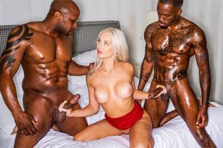 BlackedRaw - Elsa Jean Team Player
