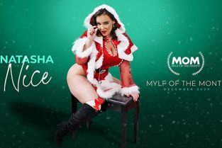 MylfOfTheMonth - Natasha Nice Mrs Claus Naughty List
