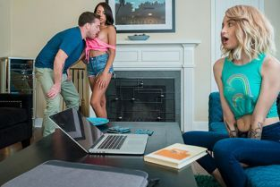 BrattySis - Lola Fae, Rachel Rivers My Immature Step Brother