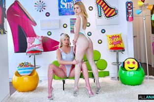 AllAnal - Chloe Cherry, Adira Allure Chloe And Adira's Anal Tag Team