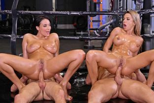 HandsOnHardcore - Anissa Kate, Shalina Devine An XXX-treme Workout Regimen – Part 2