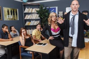 Johnny Sins, Brandi Love Grab 'Em Education [Best of Brazzers]