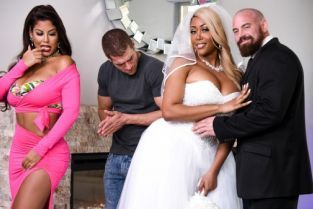 Bridgette B, Xander Corvus, Moriah Mills Moriah's Wedding Shower [Best of Brazzers]
