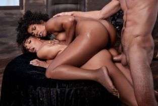 Misty Stone, Lucas Frost, Desiree Dulce MILF Witches Part 3 [Best of Brazzers]