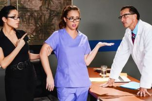 Maddy O'Reilly, Tony De Sergio Rough Malpractice [Best of Brazzers]