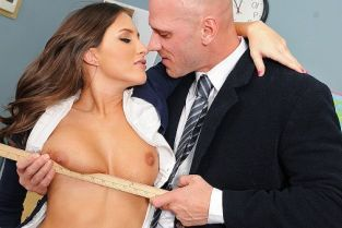Johnny Sins, Lizz Tayler A Rumor That Goes Around, Cums Around...On Your Tits [Best of Brazzers]
