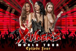Gina Valentina, Xander Corvus, Abigail Mac, Lena Paul Xander's World Tour - Ep.4 [Best of Brazzers]