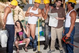 Ramon Nomar, Danny Mountain, Marco Banderas, Tommy Gunn, Hailey Young Four Cocks Mean Four Times the Fun [Best of Brazzers]