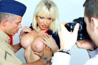 Mick Blue, Margo Russo Two Boob Salute [Best of Brazzers]