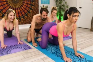Steve Holmes, Brooklyn Gray The Guru Of Gape [Best of Brazzers]
