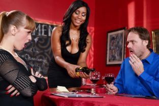 Johnny Castle, Jenna Foxx A Tip For The Waitress [Best of Brazzers]
