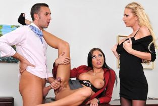 Riley Evans, Keiran Lee, Juelz Ventura Fuck Me Til I'm Fired [Best of Brazzers]